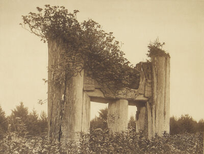 Edward S. Curtis, 'A Haida Chief's Tomb at Yan', 1907-1930