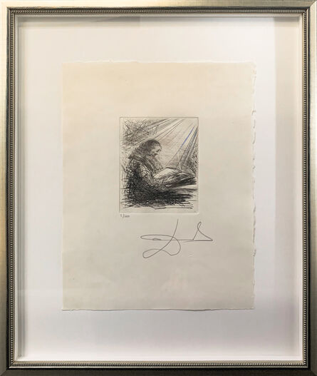 Salvador Dalí, 'Faust Reading', 1968-1969