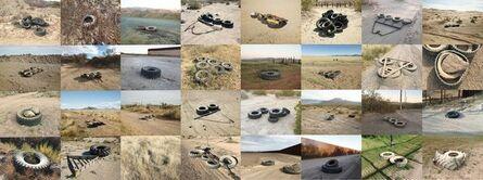 Richard Misrach, 'Border Patrol Drag Grid, Pacific Ocean to the Gulf of Mexico/Arrastres de llantas utilizados a lo largo de la frontera desde el océano Pacífico hasta el golfo de México', 2009-2015