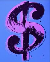 Andy Warhol, 'Dollar Sign, Blue (Sunday B. Morning)', 2013