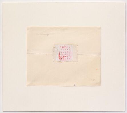 Shelagh Wakely, 'Two Hankerchiefs', 1975
