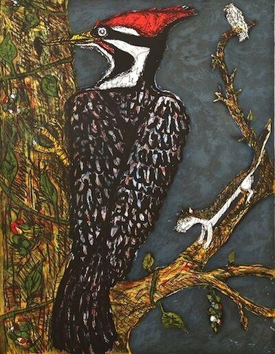 Frank X. Tolbert, 'Pileated Woodpecker', 2014