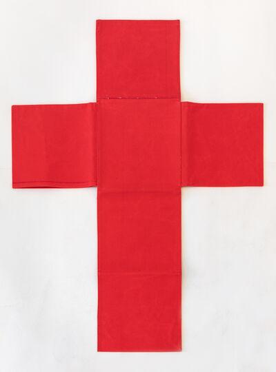 Franz Erhard Walther, 'Rotes Kreuz', 1986