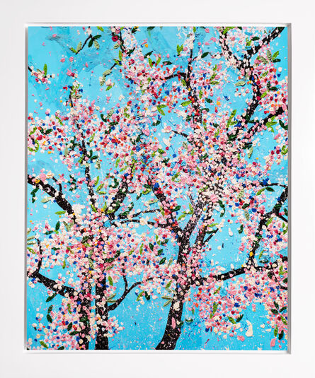 Damien Hirst, 'The Virtues 'Politeness', Limited Edition 'Cherry Blossom' Landscape', 2021