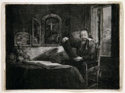 Rembrandt van Rijn, 'Portrait of Abraham Francken', 1657
