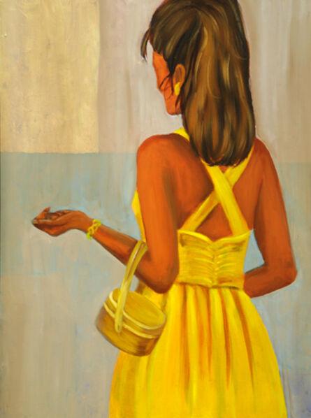 Francesca Britton, 'Girl in Yellow Dress'