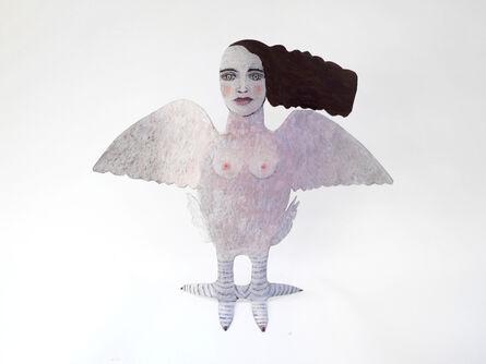Jean Dessirier, 'Petite sphinge blanche (sans socle)', 2011