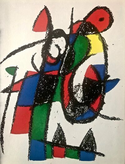 Joan Miró, 'Original Lithograph II', 1975