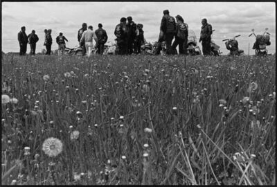 Danny Lyon, 'Outlaw Camp, Elkhorn, Wisconsin, The Bikeriders Portfolio', 1966