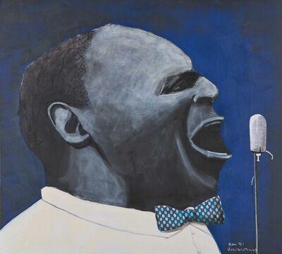 Sam Nhlengethwa, 'The Blues Singer', 2021