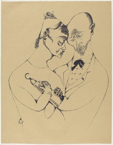 Heinrich Hoerle, 'Das Ehepaar (The Married Couple)', 1920