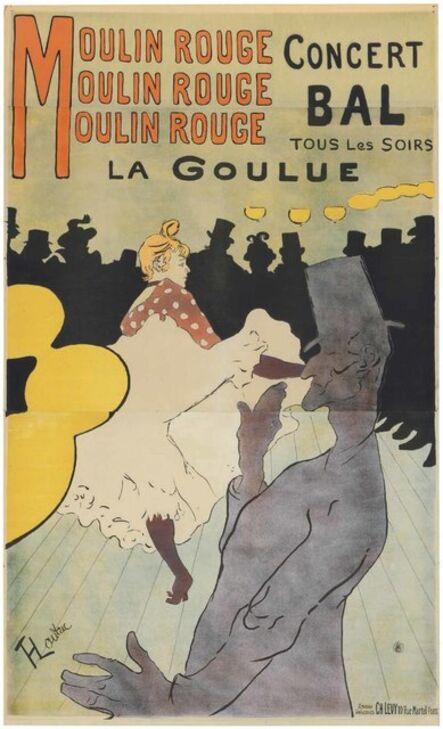 Henri de Toulouse-Lautrec, 'Moulin Rouge - La Goulue', 1891