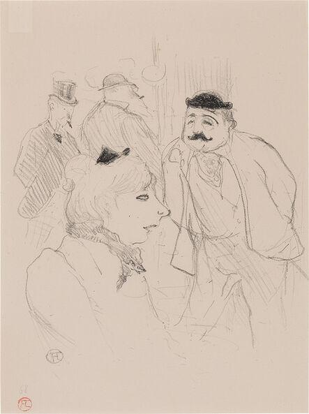 Henri de Toulouse-Lautrec, 'La Tige--Moulin Rouge (Delteil 70; Adhémar 78; Wittrock 63)', 1894