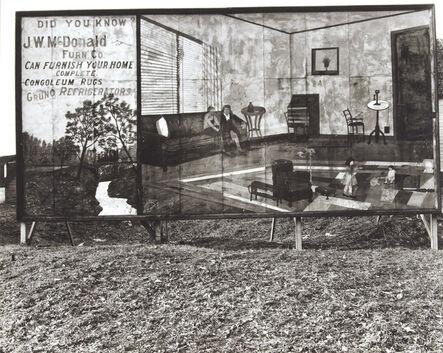 Walker Evans, 'Roadside Furniture Store Sign Near Birmingham, Alabama', 1936