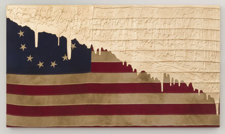 Andrew Schoultz, 'With Liberty and Justice For All (13 Stars)', 2017