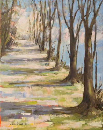 Jean David, 'Riverside Walk II', 2018