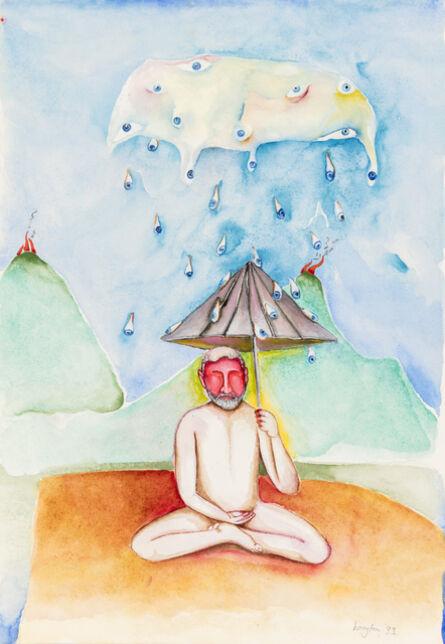 Breyten Breytenbach, 'It is raining eyes', 1993
