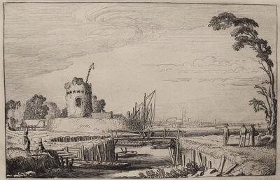 Jan Van de Velde II, 'The Old Tower as a Lighthouse', Early 1600s