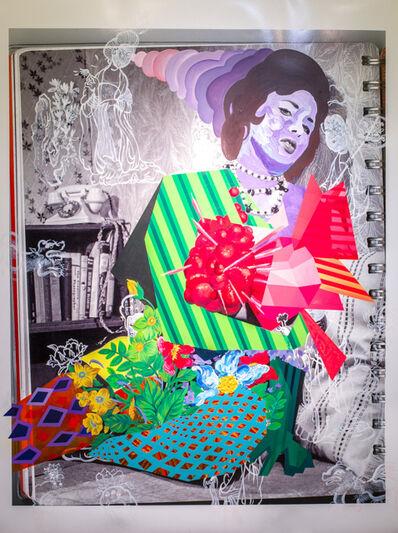 Yi-Hsin Tzeng, 'Flowery Girl', 2015