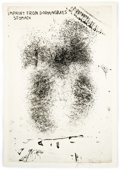 """Jim Dine, 'Imprint from Dorian Gray's Stomach from """"The Picture of Dorian Gray"""" ', 1968"""