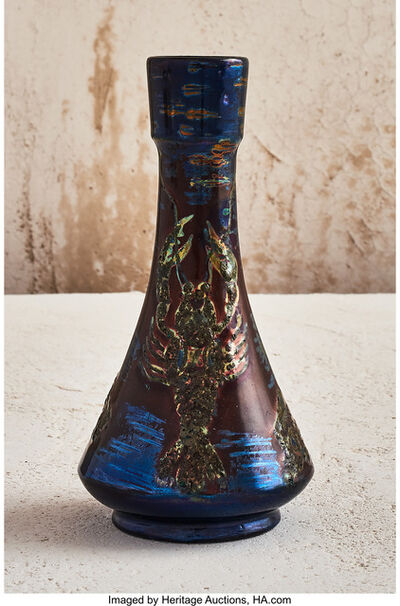 Delphin Massier, 'Lobster Vase', 1899