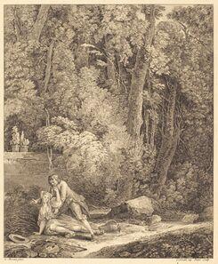 Louis Germain and Charles Emmanuel Patas after Louis Gabriel Moreau, 'Le villageois entreprenant'