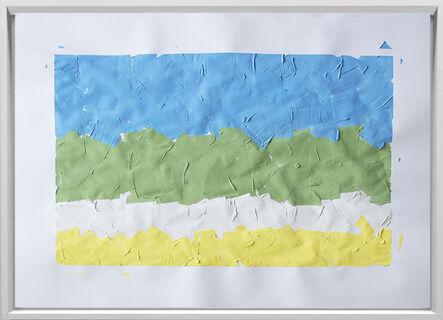 Rodrigo González Castellanos, 'Desgaste de la psicología del color, Descanso', 2020