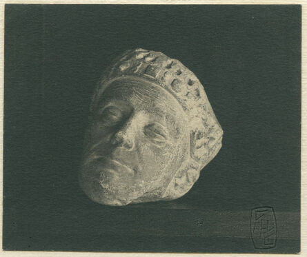 Frederick Henry Evans, 'Winchester Cathedral, Carved Head from Screen, now in the library.', ca. 1900