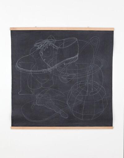 Mateo López, 'Blackboard(Shoe)', 2014