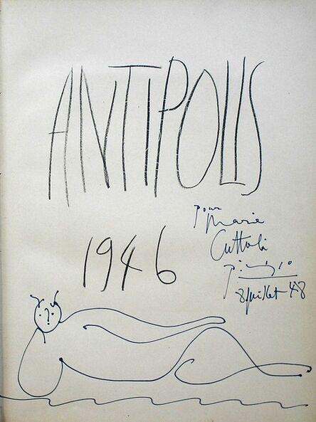 Pablo Picasso, 'Faune Allonge, 8.7.48', 1948