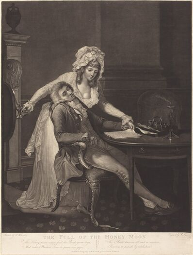 Robert Laurie after Francis Wheatley, 'The Full of the Honey-Moon', 1789