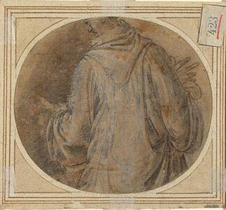 Baccio della Porta, called Fra Bartolommeo, 'A Monk [verso]', ca. 1500