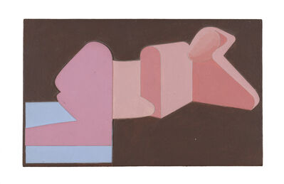 Gerald Laing, 'Reclining Figure Relief Painting', 1974