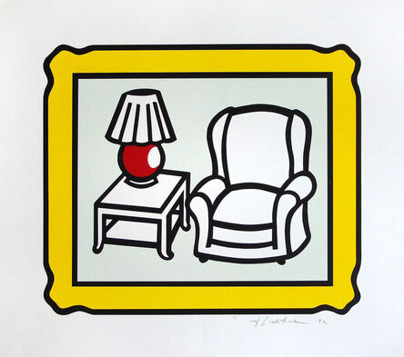 Roy Lichtenstein, 'Red Lamp', 1992