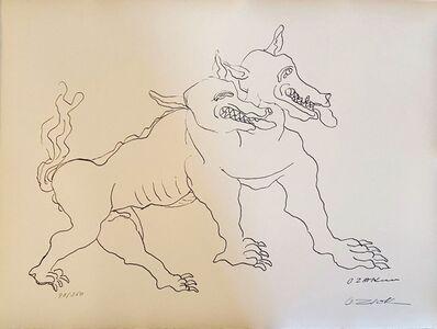 Ossip Zadkine, 'The Labours of Hercule - The shepherd of Geryon', 1960