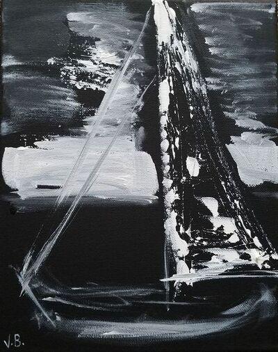 Vian Borchert, 'Sailboat at Night ', 2019
