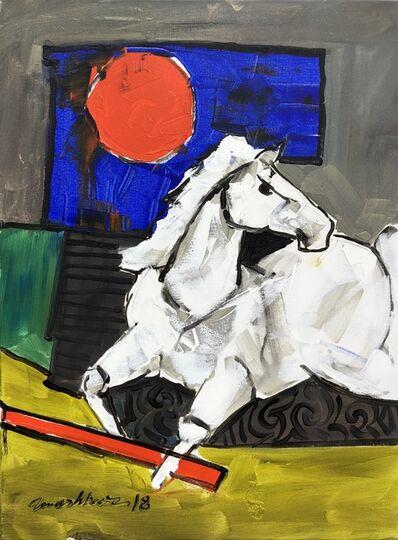 Mashkoor Raza, 'Horse', 2018