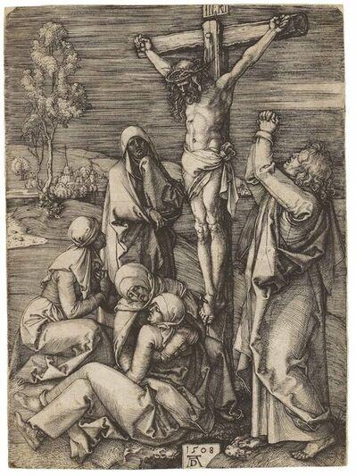 Albrecht Dürer, 'Christ on the Cross (B. 24; M., Holl. 23; S.M.S. 61)', 1508