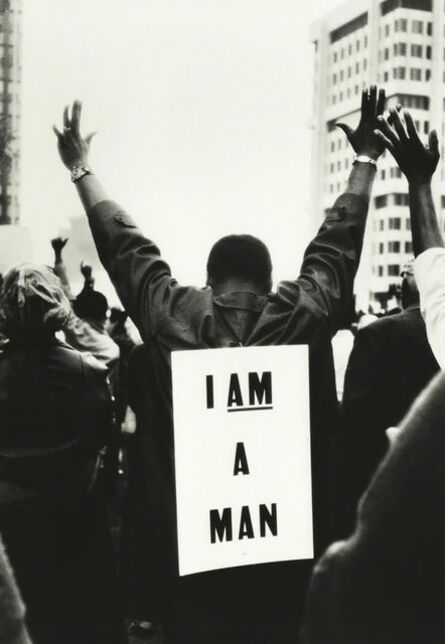 Steve Schapiro, 'I Am A Man, Memphis, Tennessee', 1965