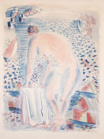 Raoul Dufy, ' Le grande Baigneuse', 1928