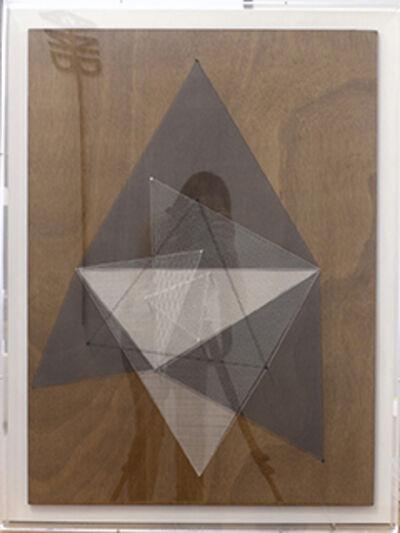 Esther Ferrer, 'Serie: Triángulo de Napoleón', ca. 1988