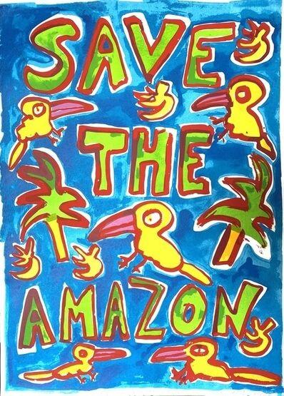Katherine Bernhardt, 'Save The Amazone', 2019
