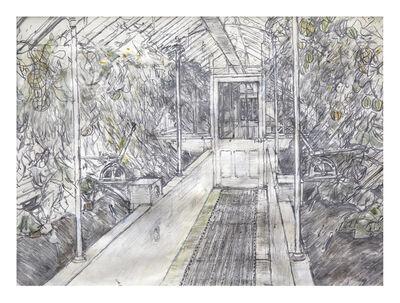 Olwyn Bowey, 'The Melon House, West Dean', 2016