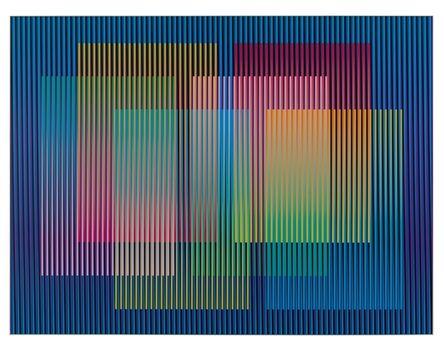 Carlos Cruz-Diez, 'Color Aditivo Panam 9 ', 2010