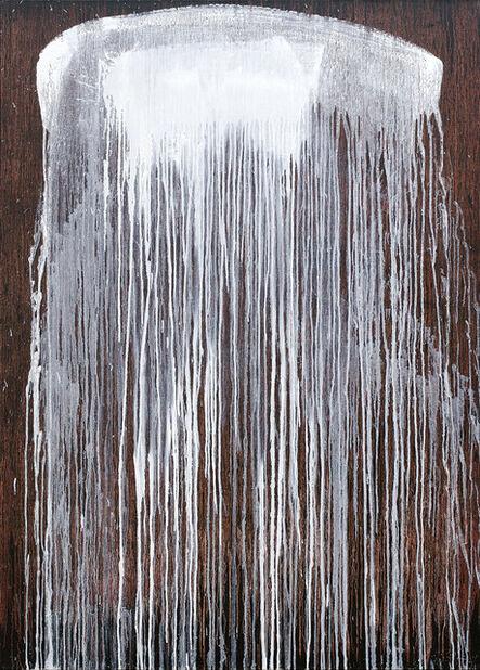Pat Steir, 'Florida Waterfall Mark Curve', 2007