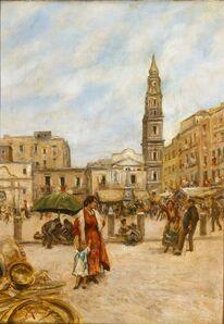 Vincenzo Migliaro, 'Market Place'