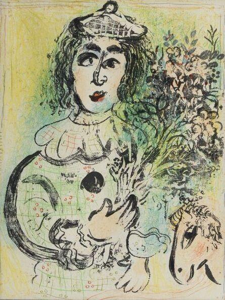 Marc Chagall, 'Le Clown Fleuri', 1963