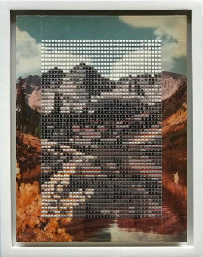 Nina Tichava, 'Maroon Bells in Fall, Aspen Colorado / Borrowed Landscape No.9', 2017