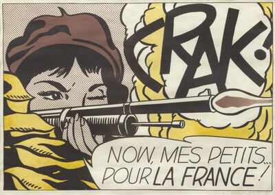 Roy Lichtenstein, 'Crack', 1964