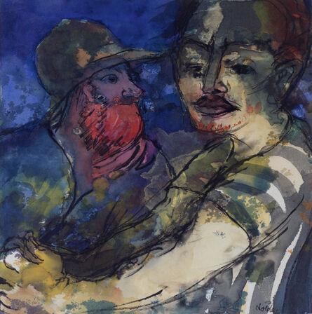 Emil Nolde, 'Zwei Männer (junger Mann und bärtiger Mann)', 1931-1935